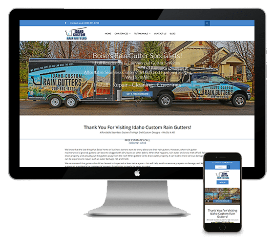 Boise Web Design Portfolio Thrive Web Designs Of Idaho