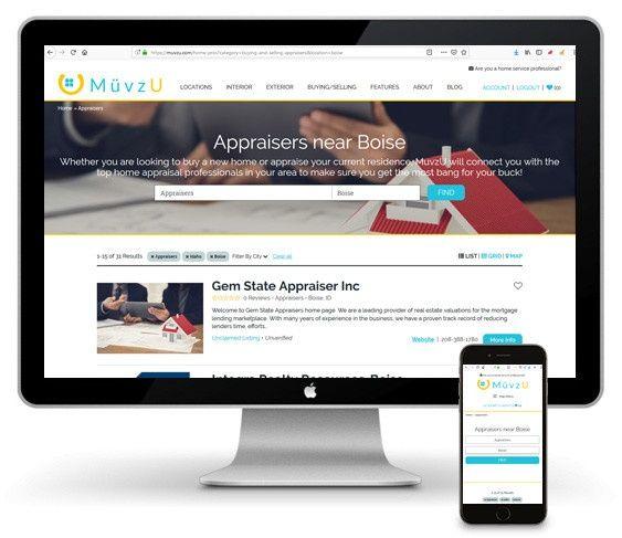 Boise Web Design Portfolio | Thrive Web Designs of Idaho