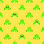 Repeating frog background