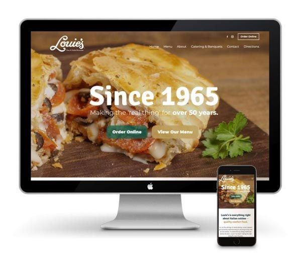 custom websites for restaurants