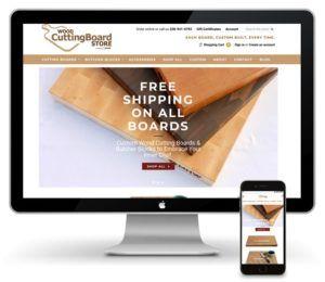 custom wood cutting boards